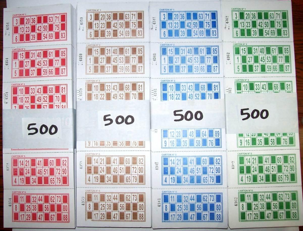 10 euros para probarlos bingo cartones-484208