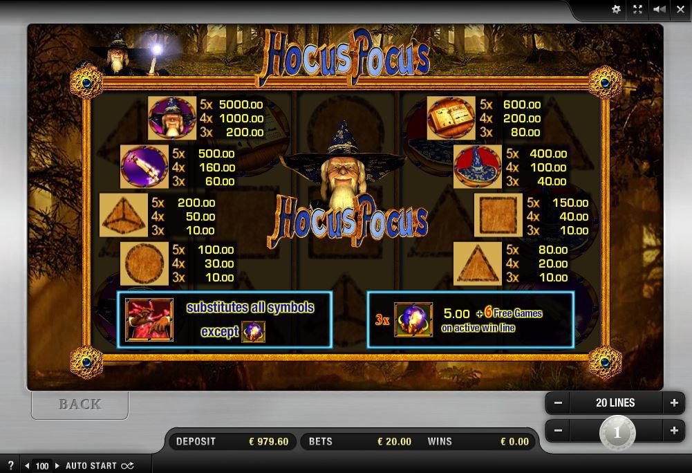 Hocus pocus casino blackjack en vivo-452801