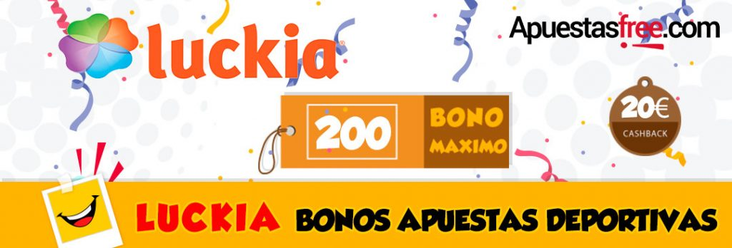 Luckia bet 50 bonos-827594