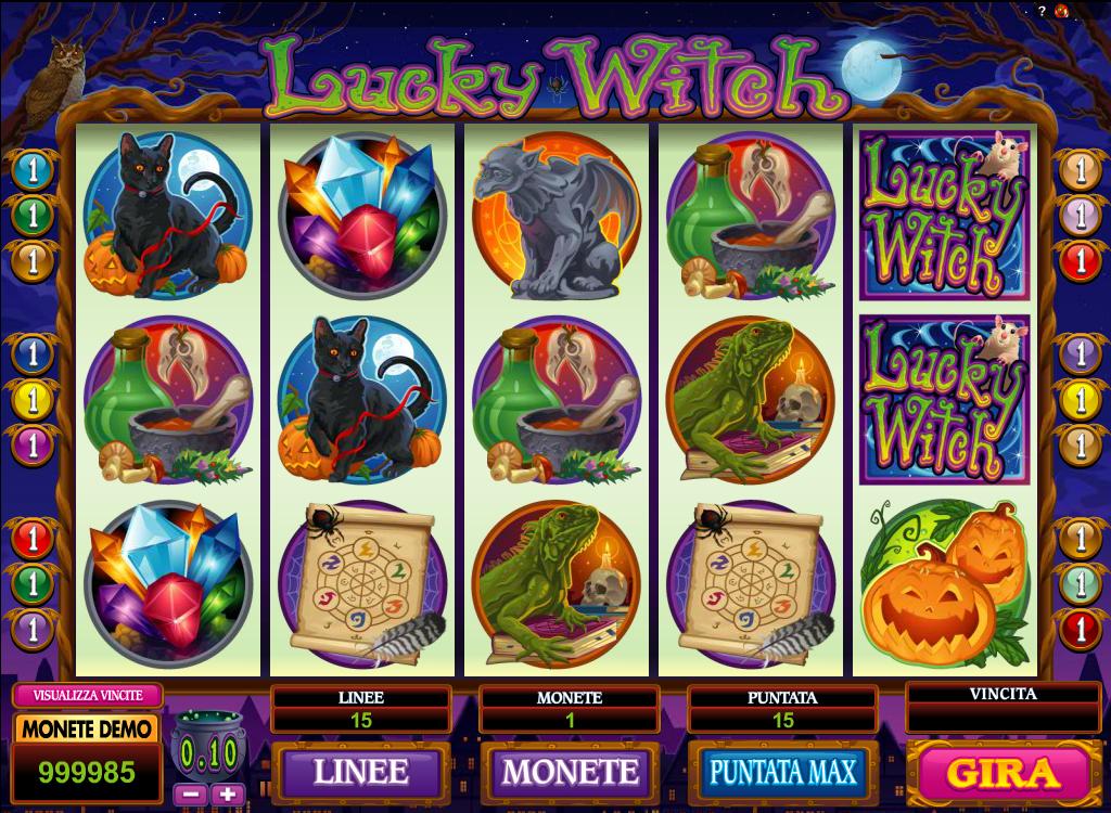 Jugar tragamonedas charleston gratis Lucky Witch-521644