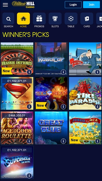 William hill app casino online confiable Palma-620195