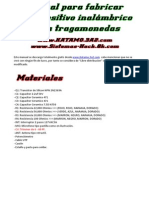Programa bluetooth para maquinas tragamonedas tiradas gratis en PAF-920099