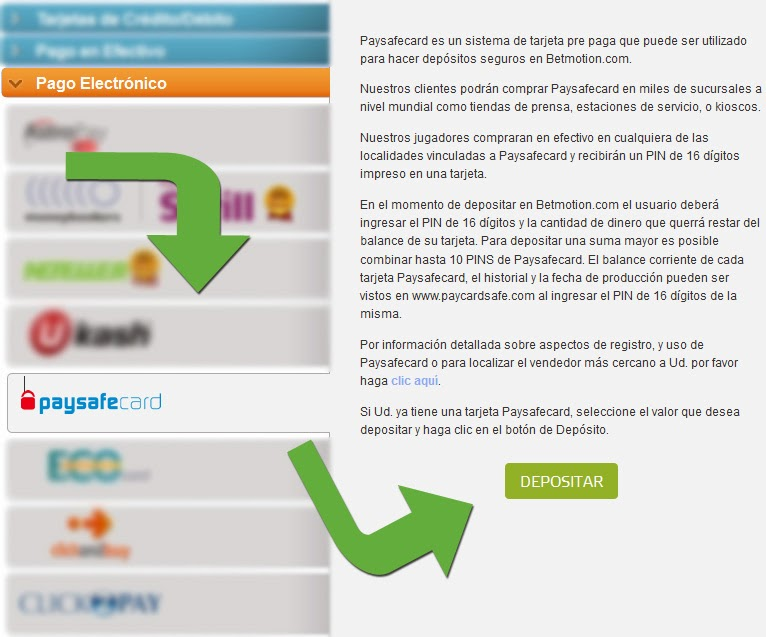 Paysafecard por casino telecharger reta bet-238019