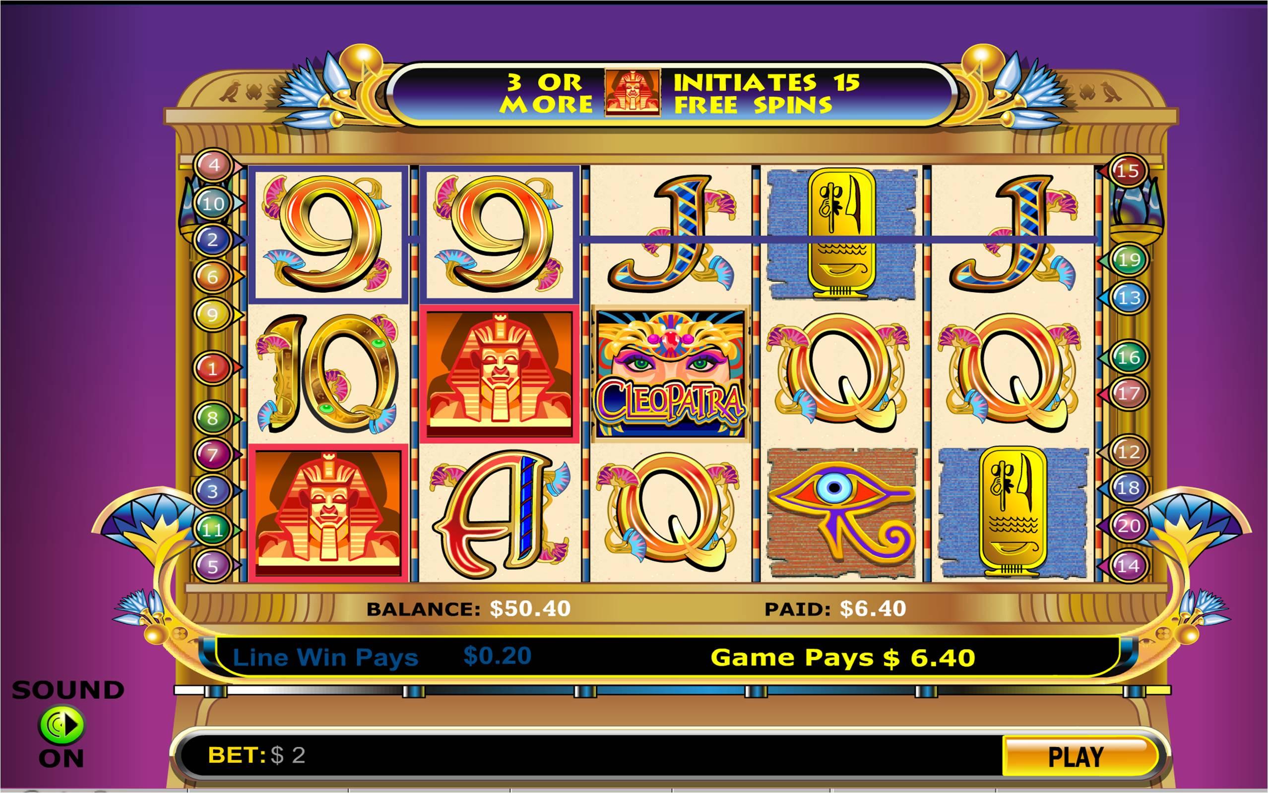 Tragamonedas cleopatra 2 métodos de pago casino Circus es-466491