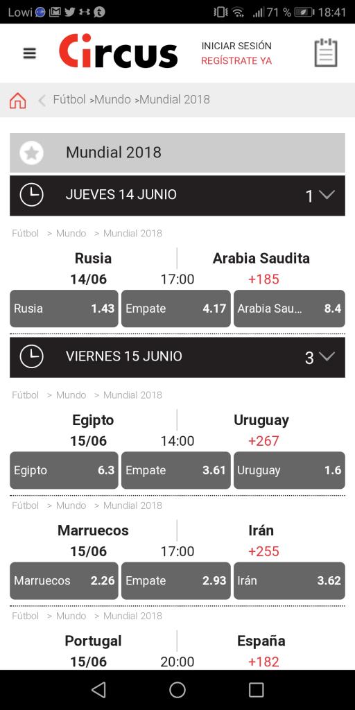 Codigo promocional wish móvil de Circus es-816521