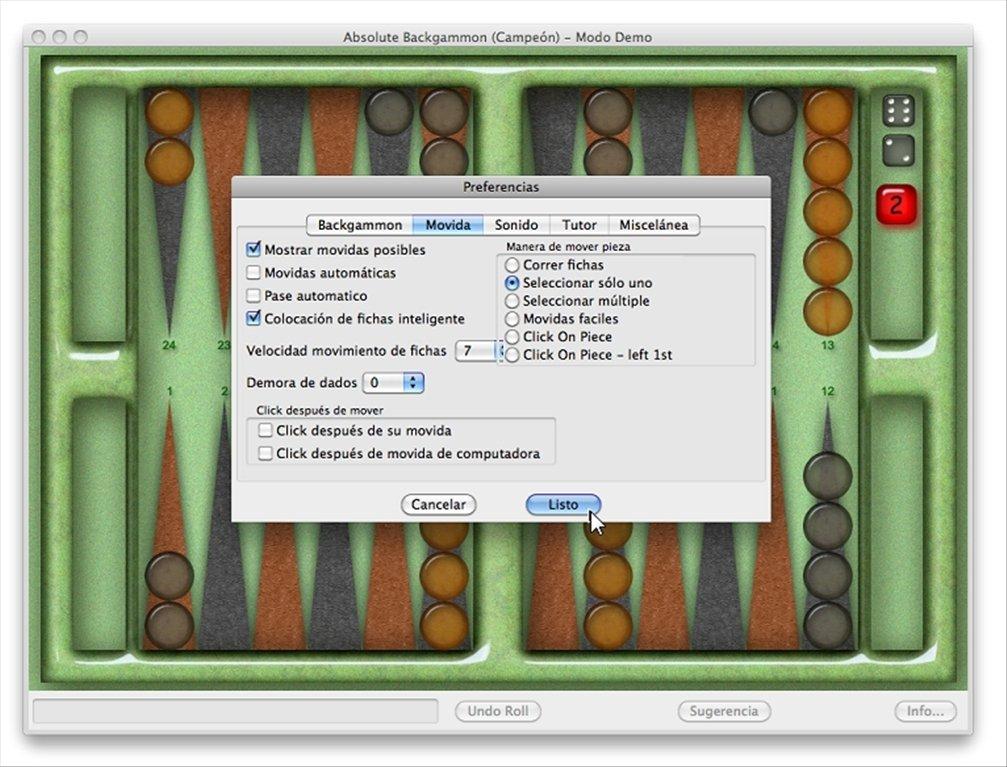 Como jugar en el casino gratis Backgamon-829569