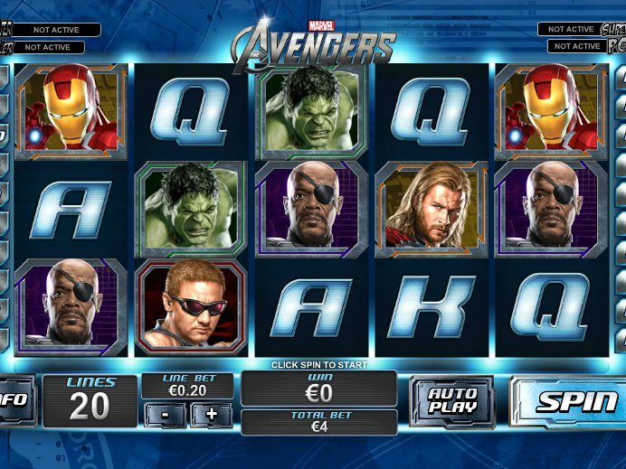 Codigos casino juega a The Avengers gratis-567609