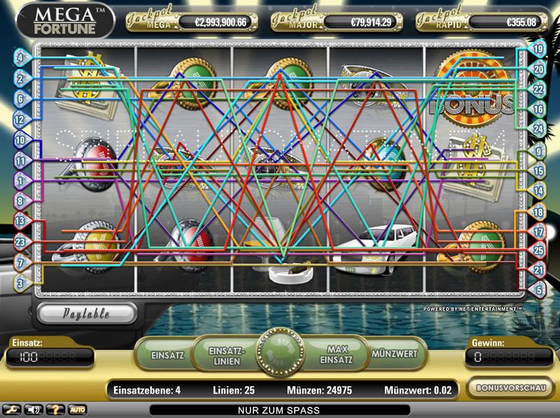 5 tiradas gratis Mega fortune video poker-554078