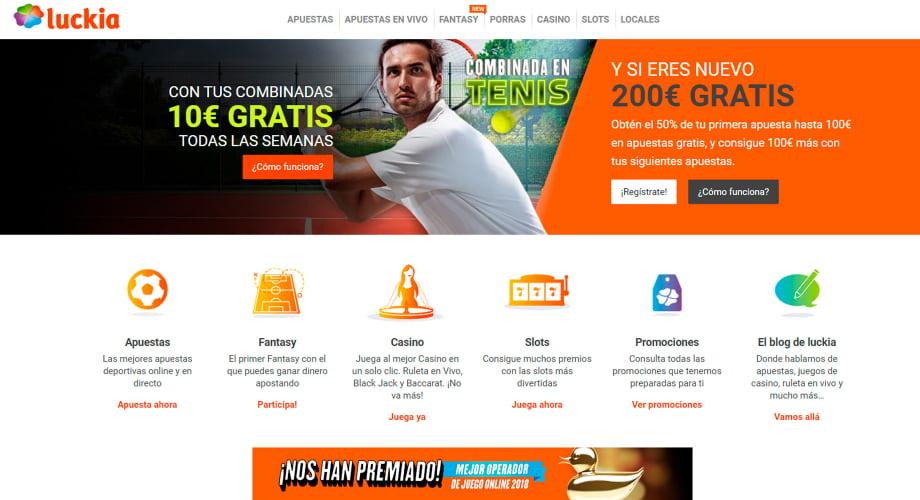 Luckia apuesta online casino Puerto Rico bono sin deposito-989909