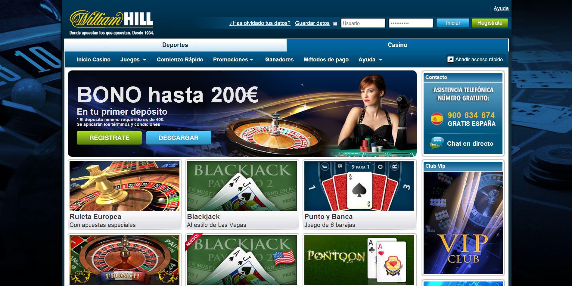 William hill 10 gratis los mejores casino online España-404735