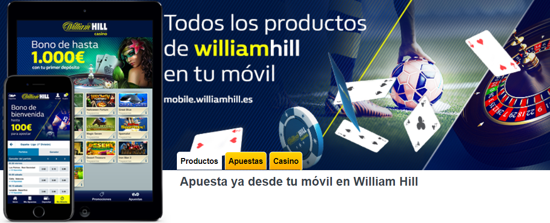 Deposita sin riesgo casino william hill app-453367