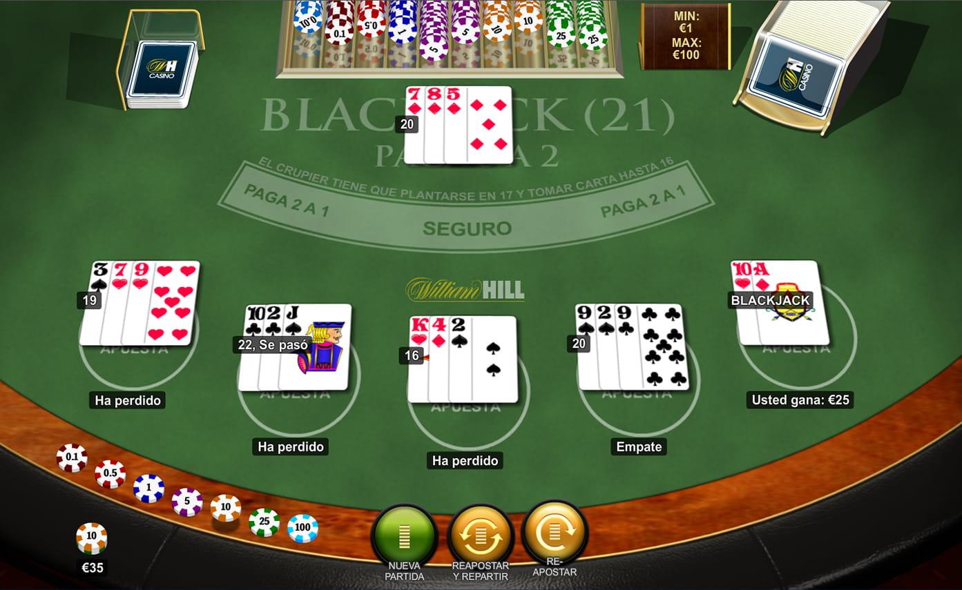 Juegue con € 100 gratis como se juega 21 en cartas españolas-408424