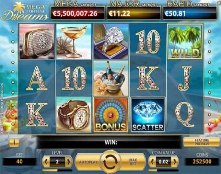 5 tiradas gratis Mega fortune video poker-206025