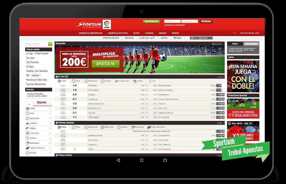 Juegue con € 100 gratis sports sportium es-293833