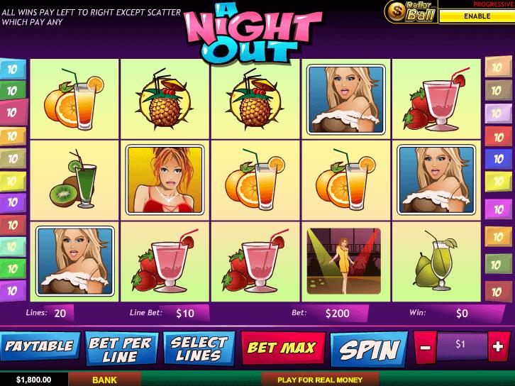 Slotomania jugar gratis tragamonedas A Night Out-412517