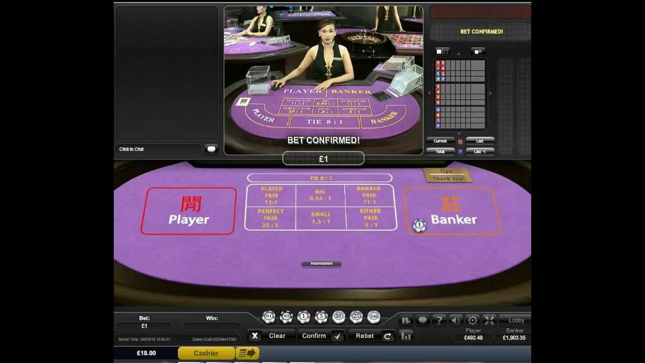 Baccara online casino confiable Santiago-644906