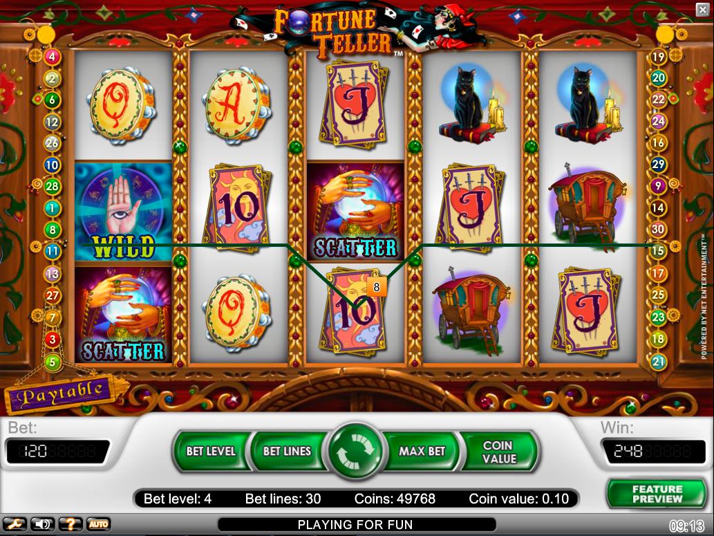 Tiradas gratis fortune teller juegos de azar-721084