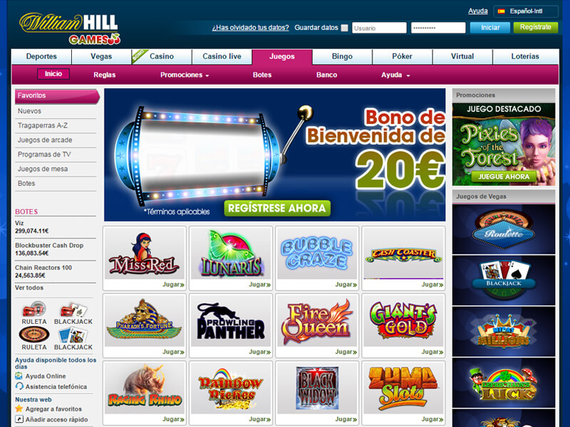 Bono william hill casino gran de bienvenida-880433