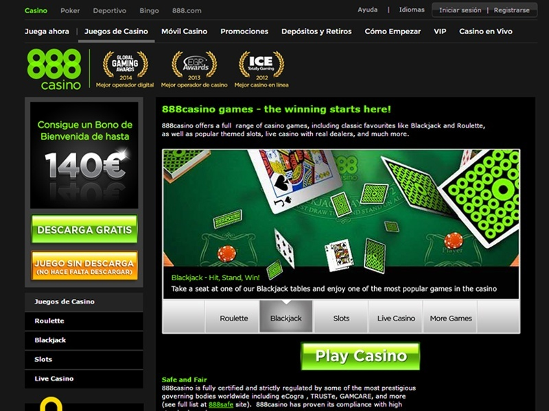 Mejores casinos online en español 5 euros 888 com-390764