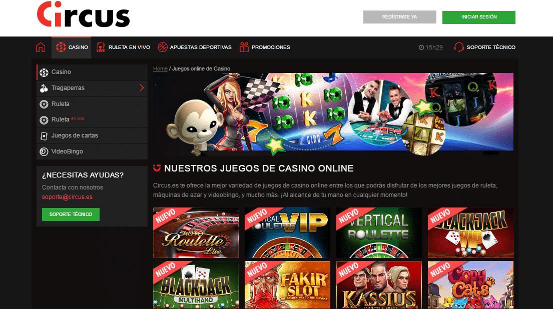 100$ gratis circus apuestas online-755626