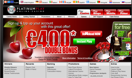 Mejor juego de poker online informe Platinum Play casino-701319