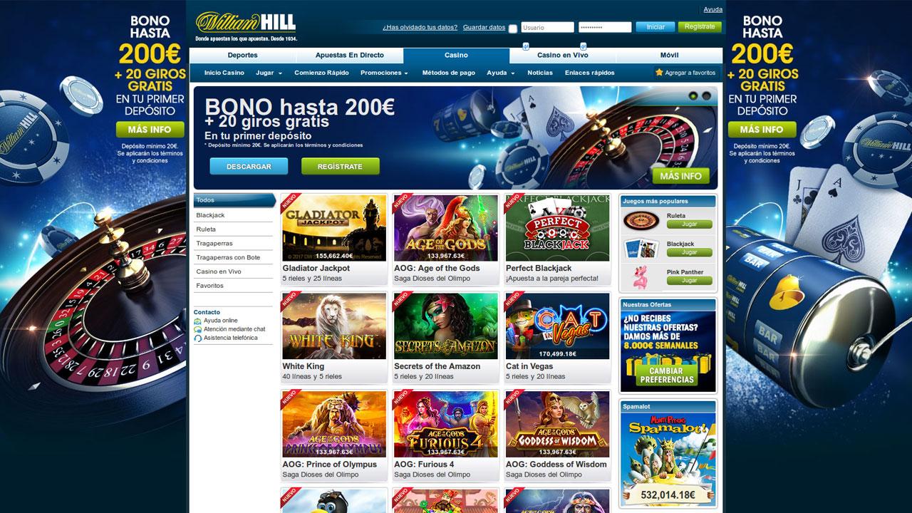 Hill williams casino tragamonedas gratis Incinerator-326039