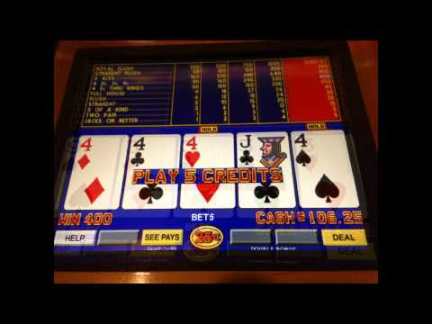 Slots of Vegas video poker gratis-142746