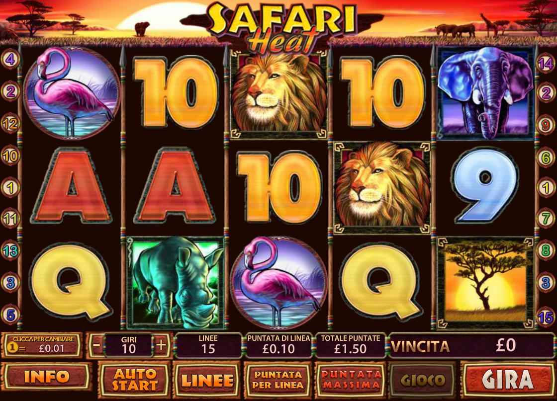 Tragamonedas gratis Safari Heat ruleta americana online-852149