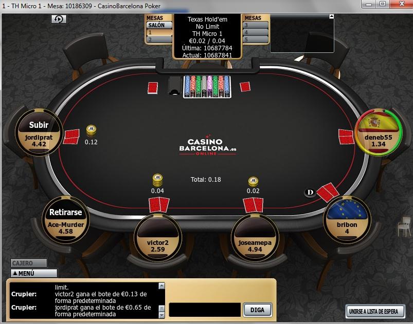 Juegue con € 100 gratis torneos de poker casino peralada-292237