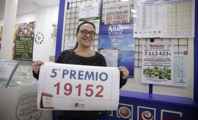 Loteria de navidad premios comprar en Valencia-710932