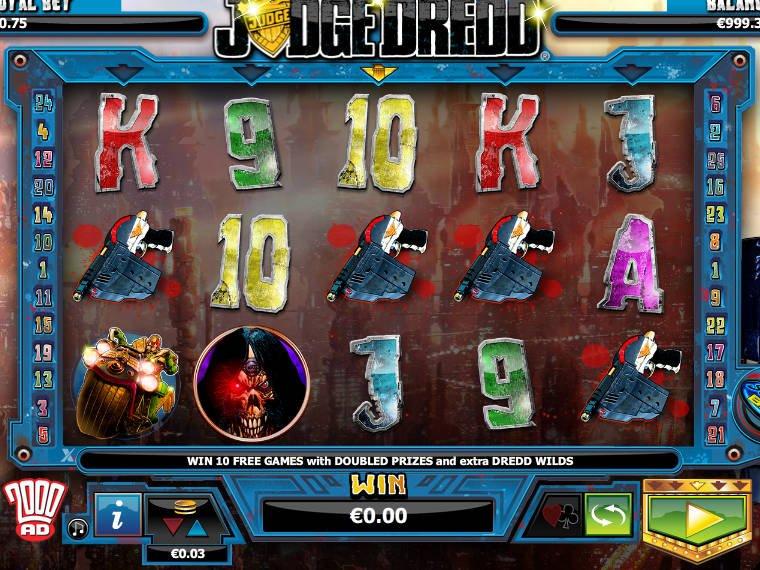 Tragamonedas gratis Judge Dredd casino con bonus sin deposito-509819