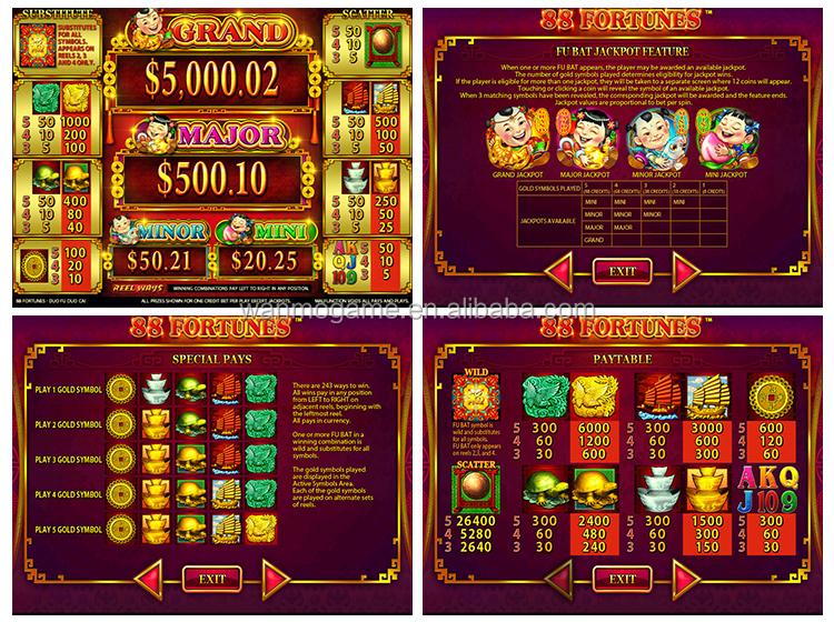 88 fortunes slots máquinas tragamonedas múltiples salas bingo casino-242559
