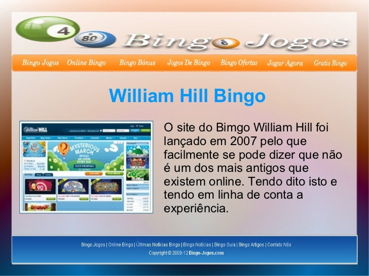 Bingo para móviles william hill entrar-611696