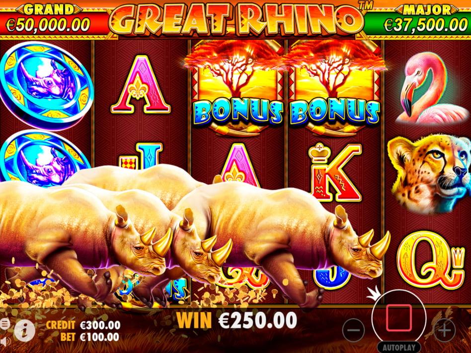 Las mejores apuestas deportivas tragamonedas gratis Great Rhino-481916