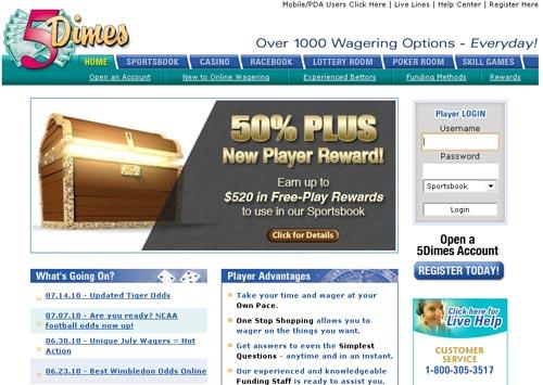 Juegos WildJackpots com 5dimes funding methods-746470