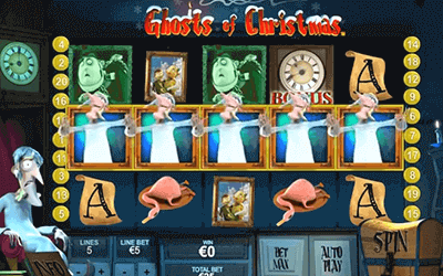 Jugar tragamonedas 3d gratis 2019 tragaperra Ghosts of Christmas-501599