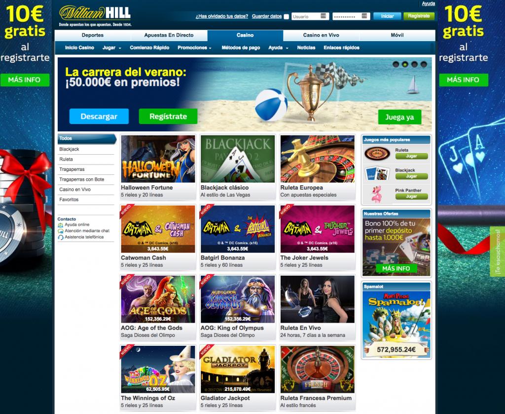 William hill live sloto Cash $ gratis bono-143296
