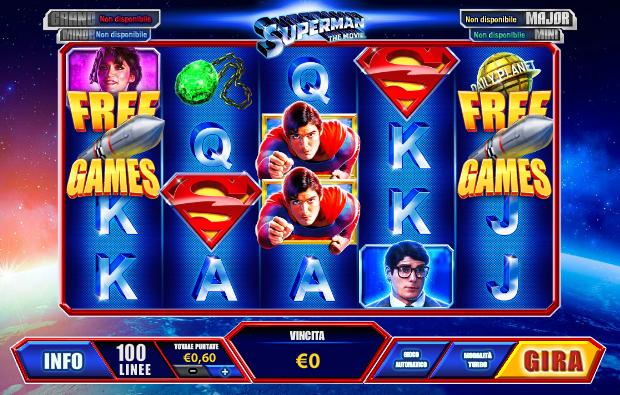 Clark slot Superman poker españa-736856