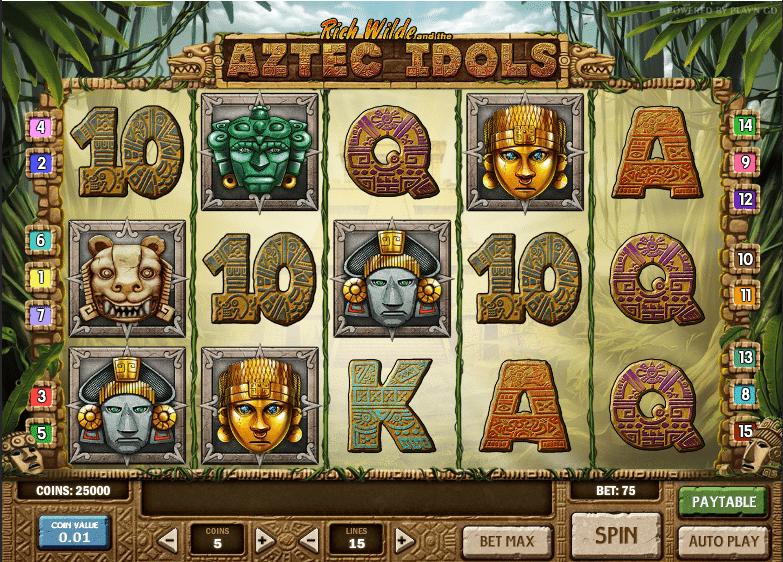 Casino bingo online tragamonedas gratis Aztec Idols-639874