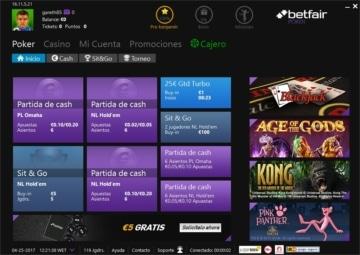 Betfair bono 100€ deposito 888 poker-882969