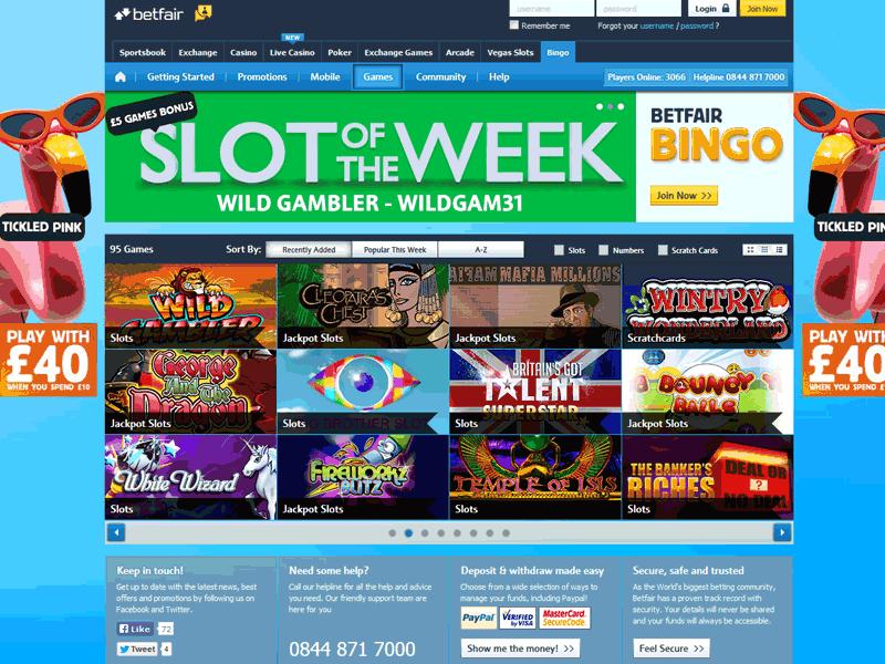 Betfair casino Portugal bingo online-808905
