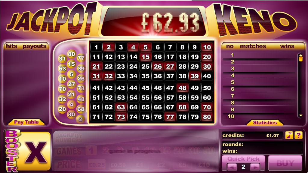 Bingo keno 10 premios €-658816
