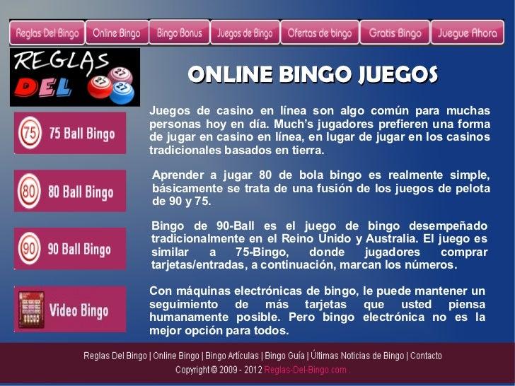 Bingo online Portugal reglas de un casino-677545
