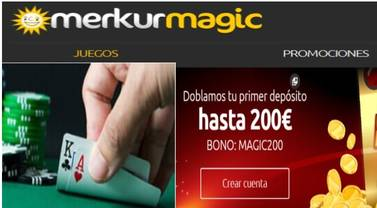 Magic merkur slots bono sin deposito casino Alicante-632577