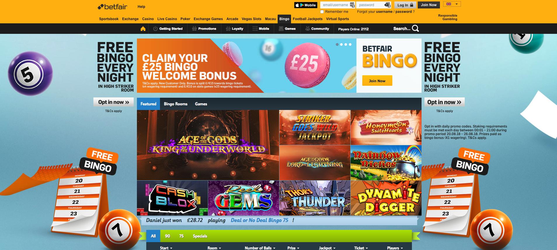 Betfair casino Portugal bingo online-106084