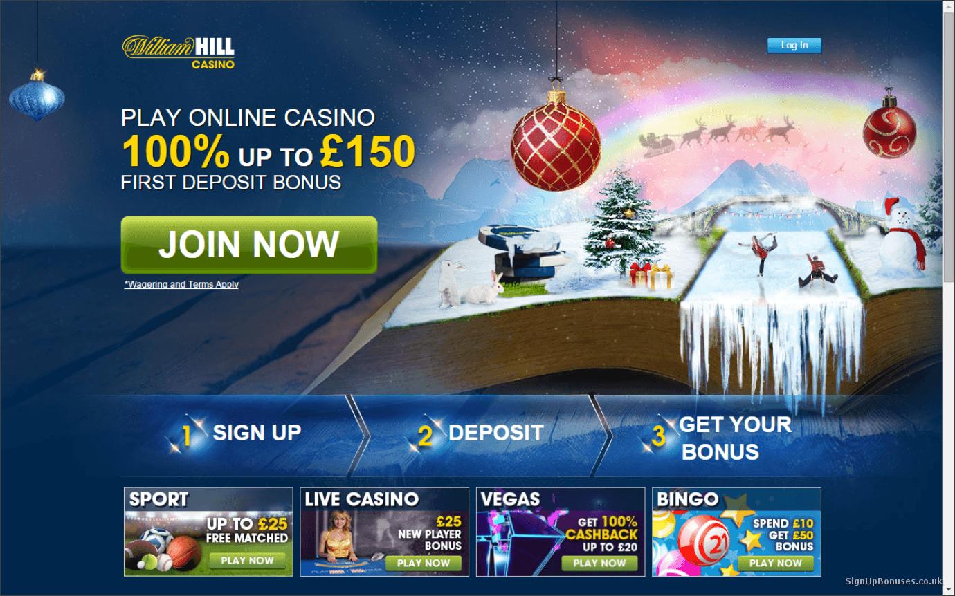Casino bonuses in Ireland william hill-585215