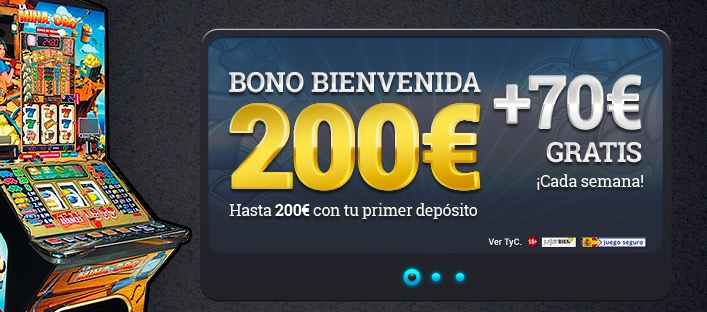 Casino online 70 tiradas gratis promoción especial-652660