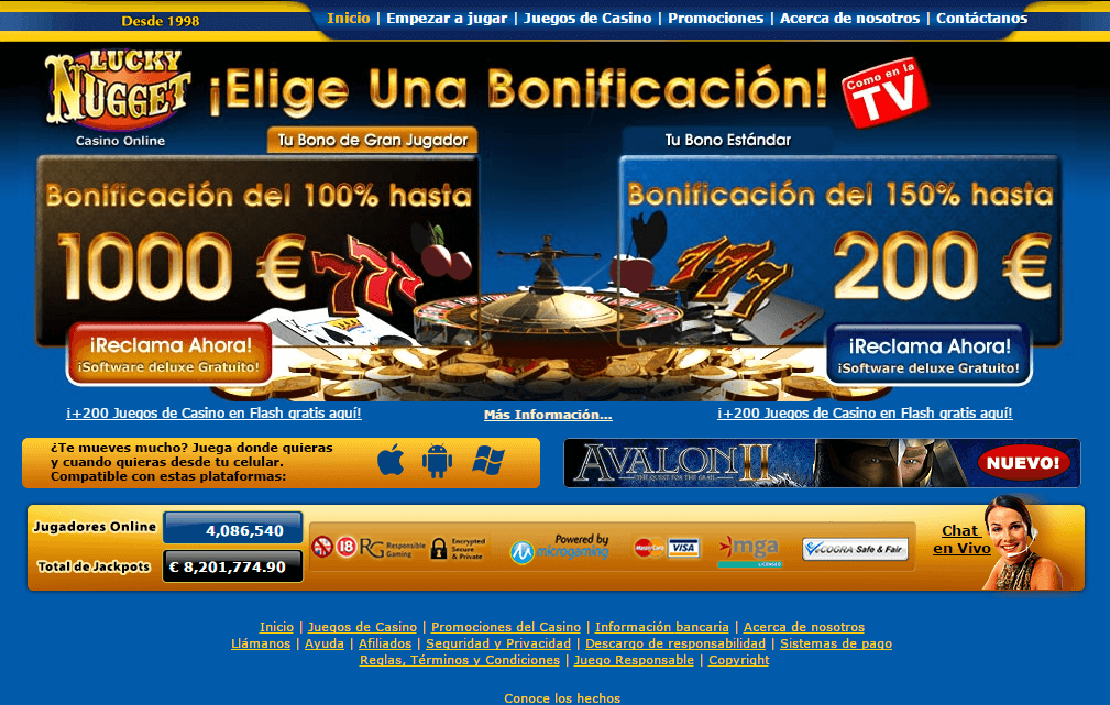 Casinos en vivo online en Chile-297169