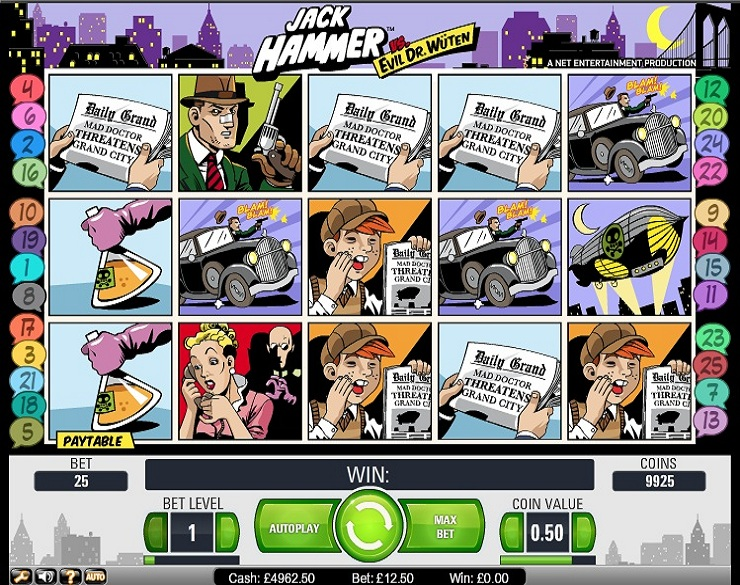 Casinos virtuales tragamonedas gratis Jack Hammer-333546