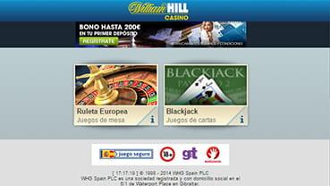 Cheques Tarjetas de crédito casino william s hill-276147